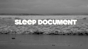 Sleep Document Dead Devils Final